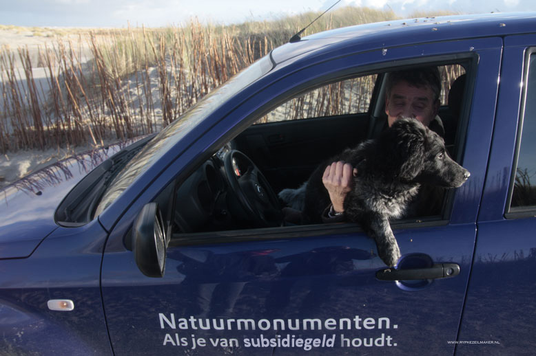 Een ketterse afbeelding...Natuurmonumenten is ook Onfeilbaar Goed, besteedt iedere euro aan De Doelstelling