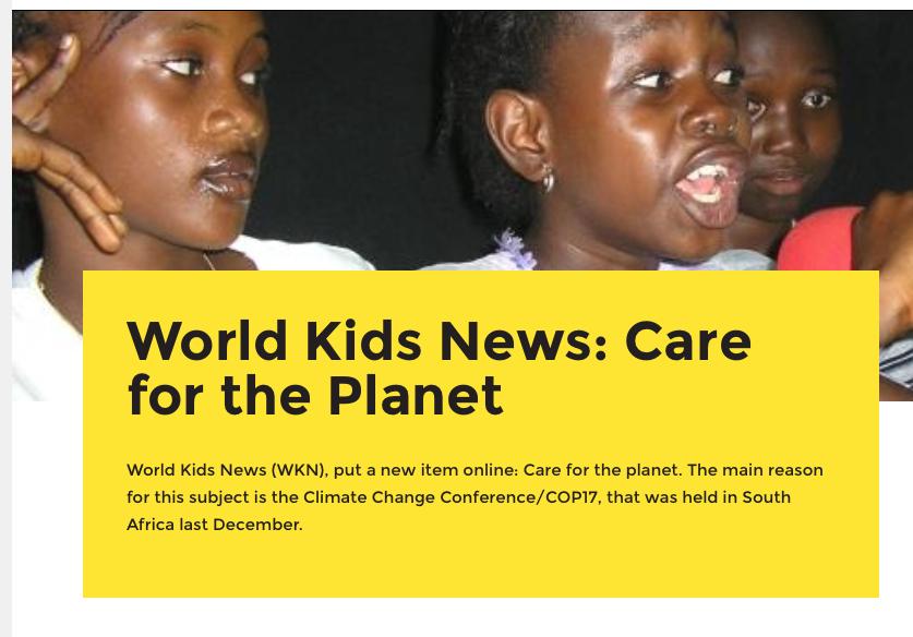 Free Press International: links liberale propaganda club die samen met Greenpeace kinderen indoctrineert