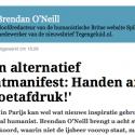 Links of rechts, het maakt niet uit: O' Neill is links maar wel intelligent en geinformeerd, en dan is het vergeeflijk dat hij uit adolescenten-sentiment en door zijn vriendenkring links blijft