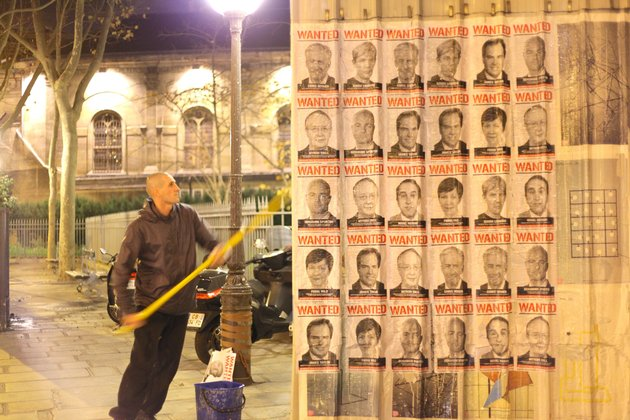 Avaaz wanted posters