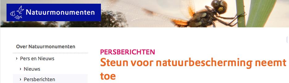 Cognitieve dissonantie bij marketingclub Natuurmonumenten met haar budget tussen 20-30 miljoen euro en 76 FTE communicatie-personeel