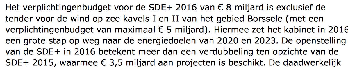 Kamerbrief Henk Kamp 8 december....