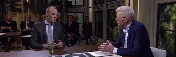 Klaas Knot, President Nederlandse Bank en prominent lid van Europese Centrale Bank, in gesprek met Witteman in Buitenhof