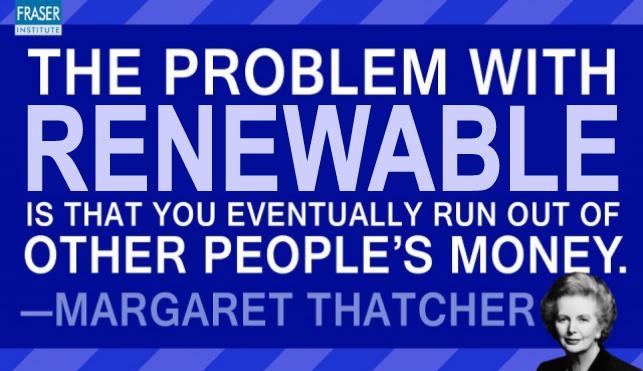 Thatcher renewables