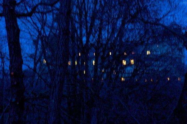 Wewelsburg bij nacht
