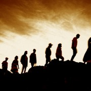 Lemmings people-jumping-off-cliff