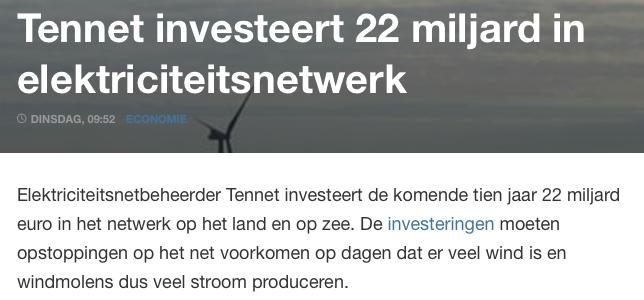 NOS Mediasukkels hoofdelijk aansprakelijk voor verkopen groene sprookje dat Nederlanders 100 miljard euro kost, zonder enige baten, behalve duurdere energie