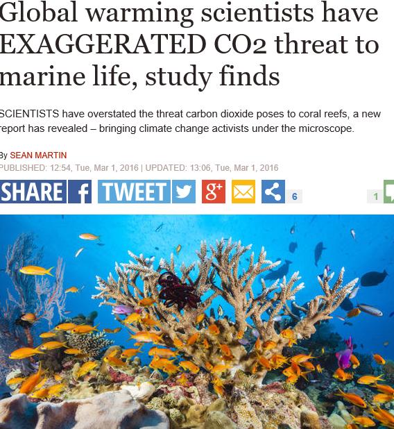Media zijn onderdeel van de onheilige drie-eenheid van milieu-alarmisme