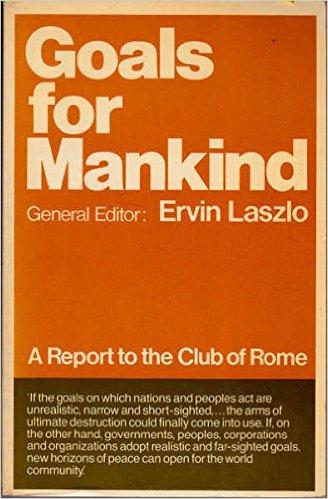 500 miljoen als optimale populatie, het wordt hier al gesuggereerd, 1977. Ervin Laszlo werd door de Hongaarse regering als klimaatcampagne-leider aangenomen in 2002