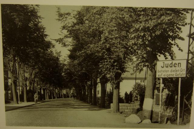 Woonwijk waar de Joodse medemens niet mocht komen
