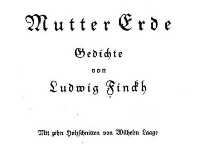 Milieudichter Ludwig Finkhe 'redde' de Hohenstoffel via ingrijpen van Heinrich Himmler