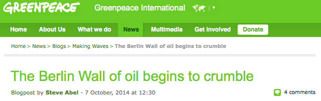 Hoezo hypocriet. Wel melden dat Rockefeller in 2014 niet meer in olie wil investeren maar NIET vermelden dat je meer dan een miljoen kreeg van ze toen ze nog WEL in olie investeerden