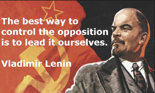 Wat Lenin deed, dat doet de NATO even goed