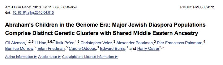Joden bewaken hun raszuiverheid, zo toont genetisch onderzoek