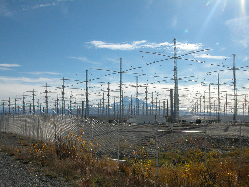 HAARP antennes die via ultra hoge frequentie de ionosfeer kunnen verhitten...