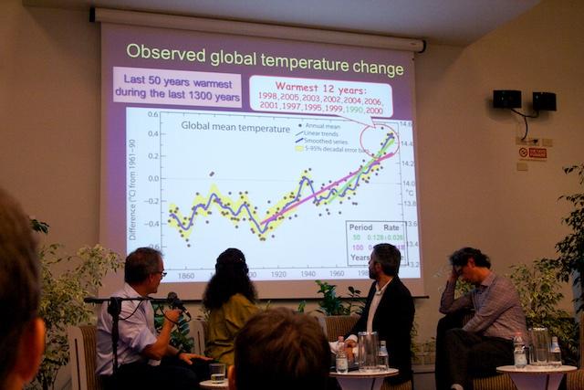 Kan de boven land gemeten antropogene opwarming deels uit vliegtuigen komen?