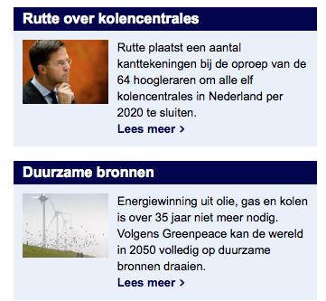 De mediasukkels van NU.nl kun je alles laten geloven....Als het maar goed voelt, dan IS het goed