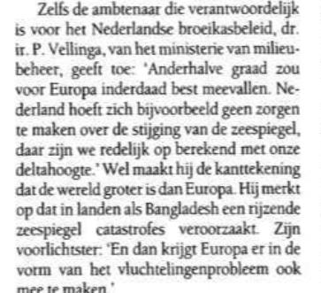 Liegen helpt je ook aan werk: Pier Vellinga dankt er zijn hele carriere aan zsinds de jaren '80, en zo maakte hij miljoenen los voor clubs als Deltares etc