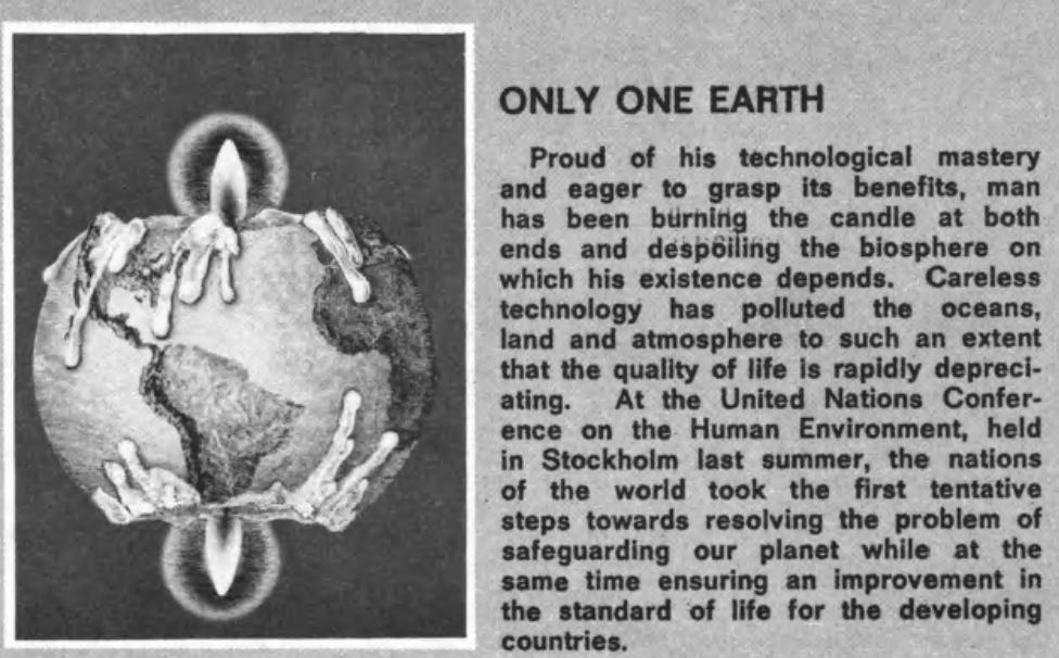 ..vanaf 1969 haakten multinationals in op groen sentiment, als vernis om de eigen agenda uit te rollen