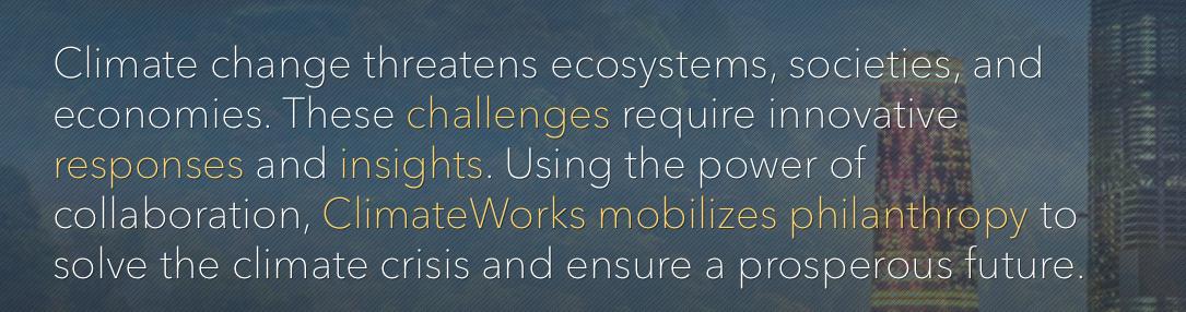 Climateworks, opgezet en gebruikt door Hewlett en Packard
