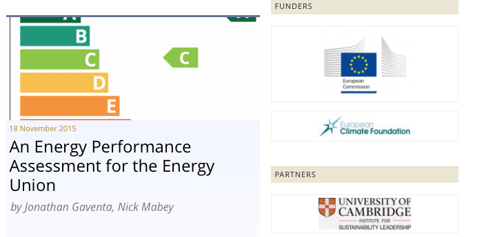 Betaald door Europese Commissie en European Climate Foundation