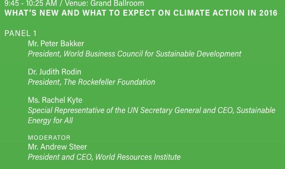 Klimaat= Rockefeller in het kwadraat
