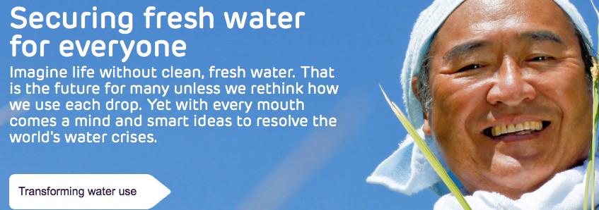 Multinationals zijn ook bezig met opkopen zoetwatervoorraden,