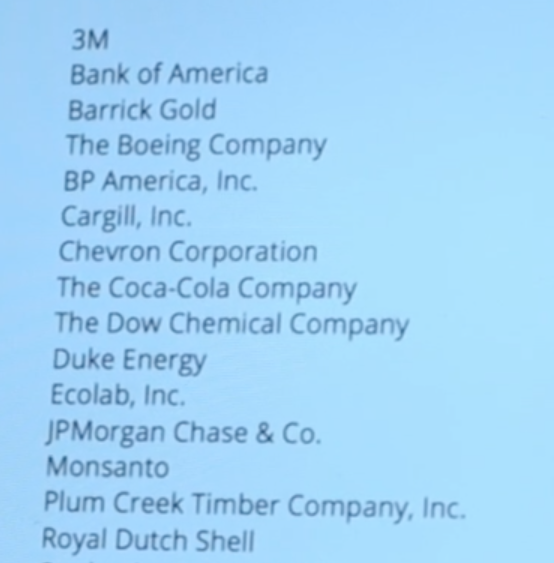 De corporate vrienden van Damanaki. Olie-multinationals en bankiers uit de Rockefeller-stal