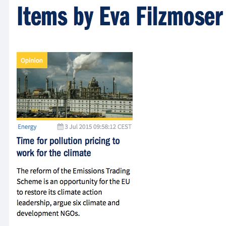 De CO2-prijs opblazen, liefst met publiek geld