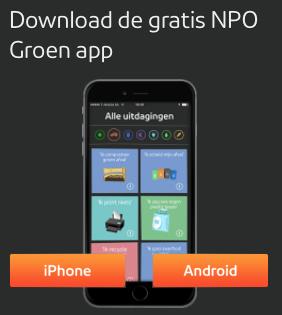 Ik bel dus ik besta, een groene app is wijvenbling