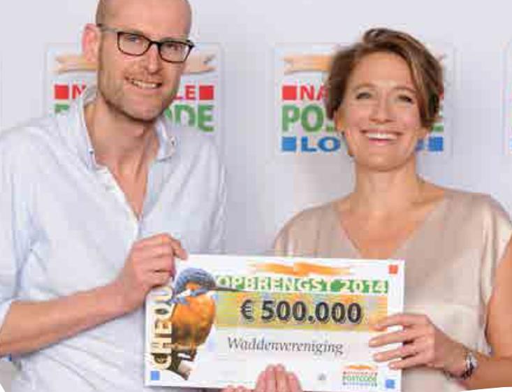 Het resultaat; de half miljoen euro loterijgeld is ook dit jaar weer binnen