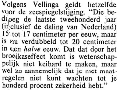 Al sinds 1988 verrijkte Pier Vellinga zichzelf drijvend op leugen en bedrog. Geknipt als directeur van de Waddengas-academie, die bestaat om de grote invloeden te beschermen, en de kleine invloeden te beschuldigen met frauduleus neponderzoek
