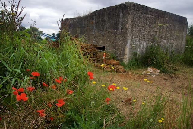 Honderd jaar later komt nog steeds de resterende munitie boven, zoals bij deze Duitse bunker tussen Baupame en Poziers