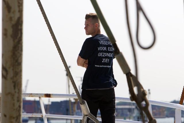 Geen strop om de nek van onze vissers