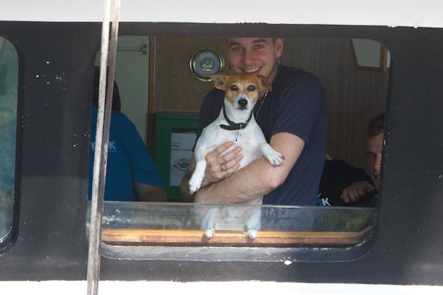 Trudy met de dogwhisperer van Urk, Klaas