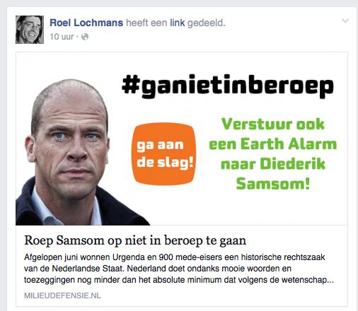 Voor de Nederlandse Overhead, betaald door de Nederlandse Overhead
