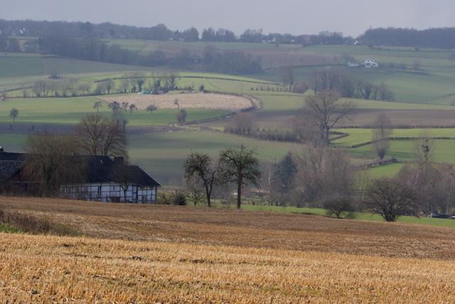 Het prachtige Zuid Limburger Agrarische land. Beter subsidie voor landschapsschoon, dan voor windturbines: toch?