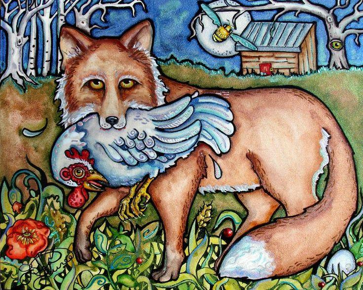 fox-hen