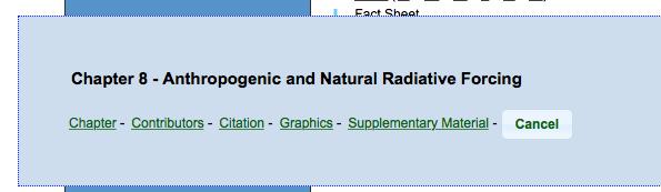 Het staat toch echt in het IPCC rapport. Er zijn ook NATURAL forcings, niet alleen CO2