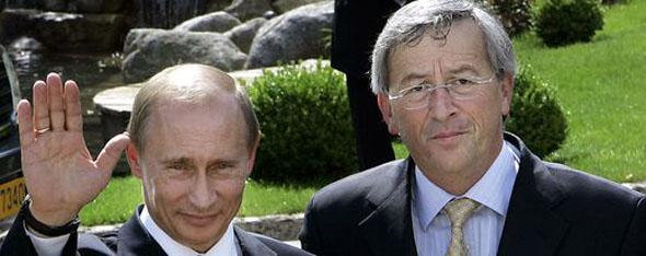 Putin en Juncker (Foto AP)