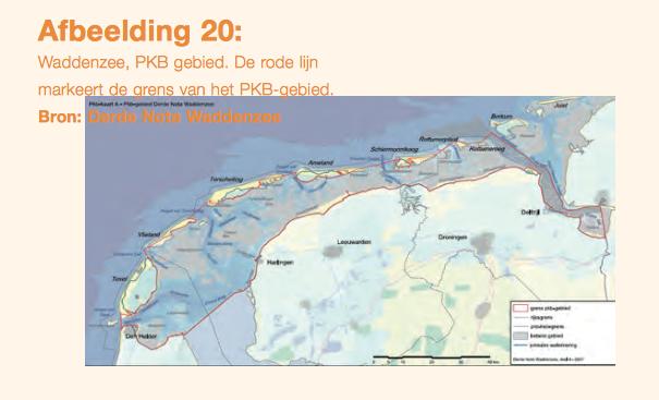 Formeel valt ecologisch crimineel Anne de Groot/RVO met Windpark Fryslan net buiten PKB-gebied Waddenzee
