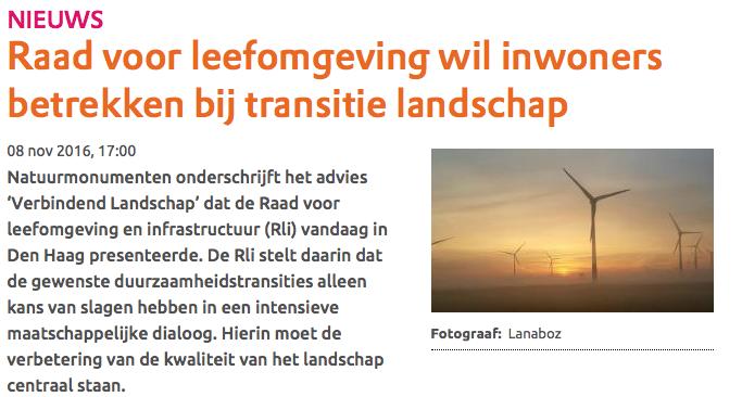 ..de Raad voor de Leefomgeving sponsort ook windturbine-fanaten