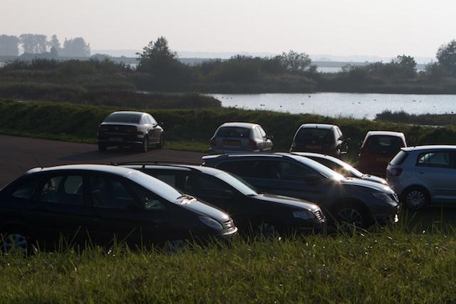 Buitendijkse parkeerplaats voor de beleefbaarheid