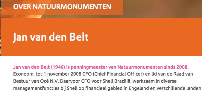 Shell/NAM let op de centjes bij Natuurmonumenten