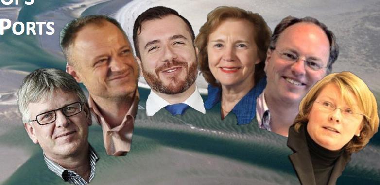 Gezellig: Tineke Netelenbos is ook van de Partij op het Wad en de vanwege declaratieschandaal afgetreden staatssecreataris Co Verdaas (2de van links)