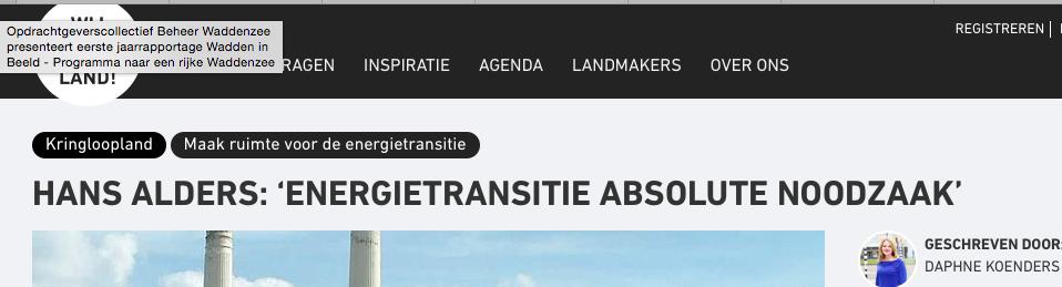 Hans Alders (PvdA) is nu als zetbaas Energieakkoord voor energie-multinationals ook Nationaal Coordinator Groningen