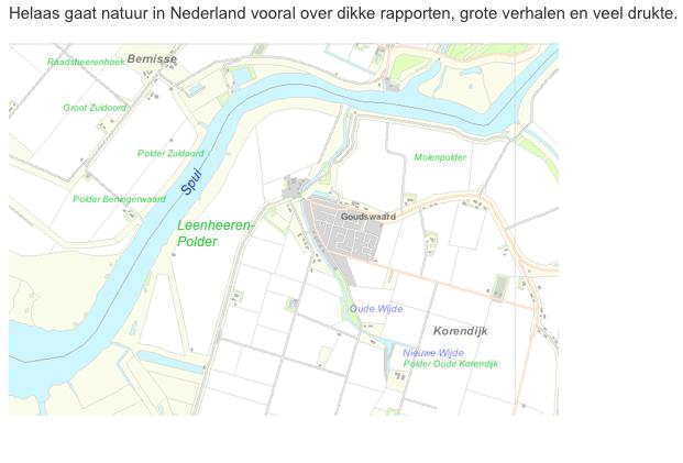 Natuurmonumenten gebruikt de overheid om grond in beslag te nemen, zoals de Leenherenpolder