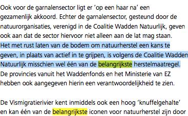 PRW: alles op de vissers afschuiven om Ministerie van EZ en Rijkswaterstaat uit de wind te houden