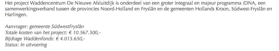 Het Waddengasgeld is binnen, nu kan Arjan Berkhuysen zich met 'stop de gaswinning' weer groen verven