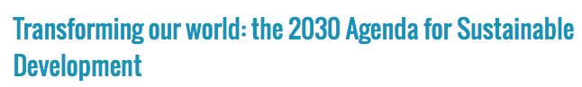 De nieuwe naam voor Agenda 21: geheel toevallig uiteraard, die overlap met de Club van Rome-voorspelling uit 1972